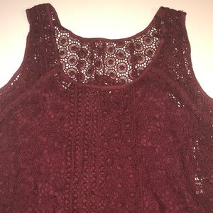 😍 Lucky Brand lace tank 😍